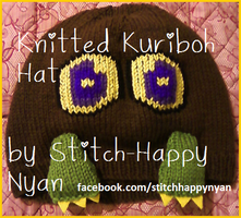 Knitted Kuriboh Hat v.2 by Stitch-Happy