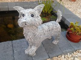 West Highland Terrier by braindeadmystuff