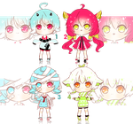 [OPEN] Adoptable Auction #1 by Rei-Adoptables