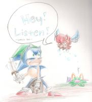One Hour Sonic 04: LISTEN ! by CoralCalypso
