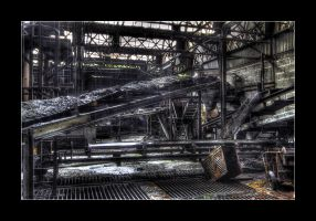 Coal Conveyor Belt by 2510620