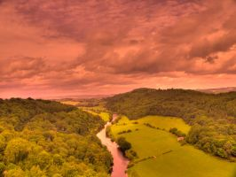 wye valley by OliHDR