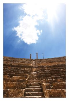 Bosra Amphitheatre 2 by glorysword