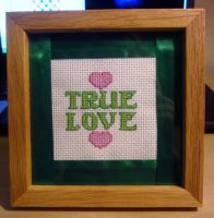 My Third Cross Stitch by cadillacphunque