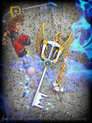 SORA'S KEYBLADE AUCTION by ArtByStarlaMoore