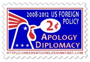 US Diplomacy stamp by RedTusker