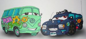 CARS Fillmore and Tai by TaiOMega