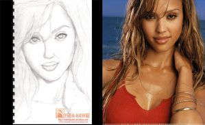 Jessica Alba by sYsTeMhAyWiRe