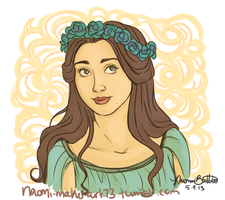 Queen of Love and Beauty by naomi-makes-art73