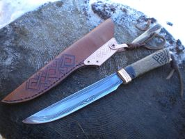 Nordic knife by hellize