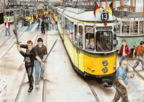 Tramcar combat by nessi6688