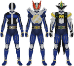 Kamen Rider New Den-O by Taiko554