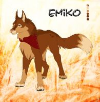 *NA* Emiko Character Sheet by CrazyRodeoGirl