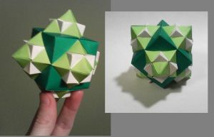 Green Cube + extras by 1sand0s