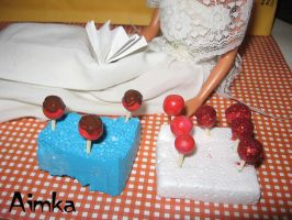 Candy Apple, Chocolate Apple and Chamoy Apple by Aimka