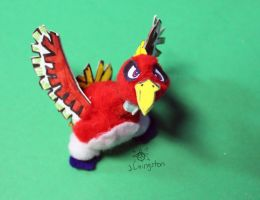 Santy the Pompom Ho-oh by MeMiMouse