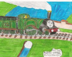 Emily the Number 12 Engine? by RiverStationStudios