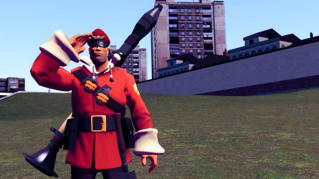 Team Fortress 2 - My Soldier Loadout by DrBrainBasher