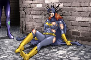 Down And Out 2: Batgirl by andrewr255