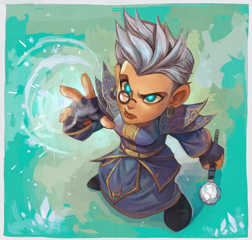 Frost Mage by Drkav