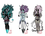 Glitch Fit Adopts -action- closed by PastelBits