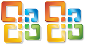 Office 2007 Official ICO Logo by FenyX93
