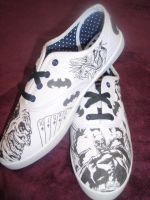 Batman Custom Trainers by Tezza-jr