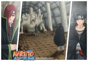 DreamMatch Nagato vs Itachi by zeth3047