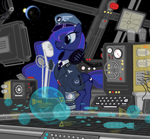 Supreme Chancellor of the New Lunar Reich by ColorCopyCenter