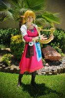 Skyward Sword - Zelda by HylianMaka