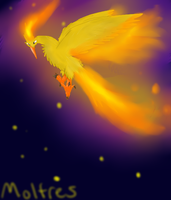 Moltres by AuroraPaws