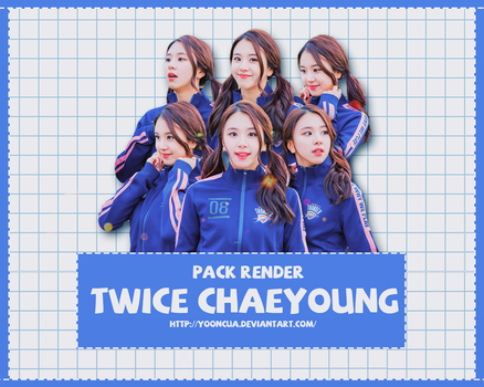 PACK RENDER TWICE CHAEYOUNG @ Entertainment Weekly by yooncua