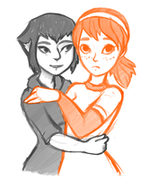 April x Karai by java-finch
