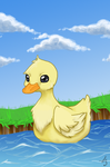 Duckling by Chibiaotori