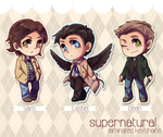 SPN - TFW Chibis by say0ran