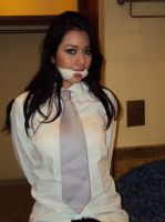 necktie gagged by aguze2