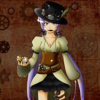 Steampunk Style by pizzaplanet