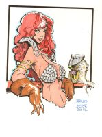Rantz Coloring Book Vol 2 Red Sonja No.2 by Dseter