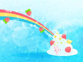 Rainbow Love by ishiwong