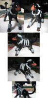 Sculpey Houndoom by Polytropic