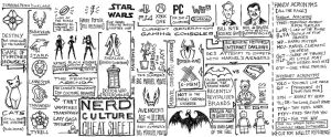 Nerd Culture Cheat Sheet by AgarthanGuide