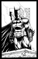 Batman Arkham City inks by seanforney