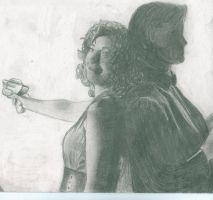 River Song and Eleven by JibbsLover