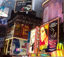 Broadway Commercialism by Draconicreverie