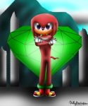 Happy Birthday-Knuckles the echidna by Kathy-the-echidna