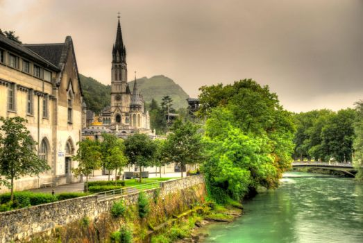 Lourdes - HDR by eterovick