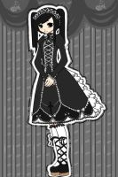 Gothic Lolita - Lenore by patternfactory