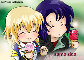 Athrun and Cagalli - Same Side by Prince-in-Disguise