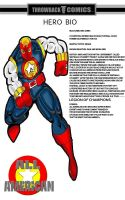 Throwback hero bio All American  by RWhitney75