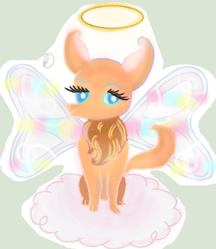 For MyMelodyOfTheHeart [oc as an animal] by funbubble101